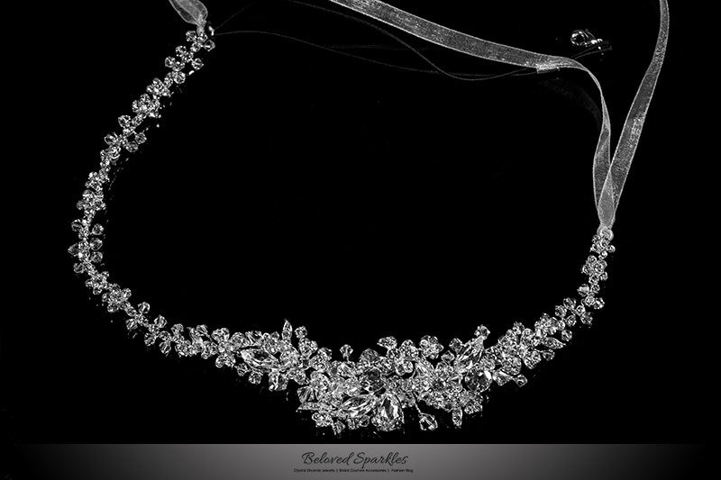 Persis Delicate Cluster Silver Hair Tie Headband  a47431bf7f0