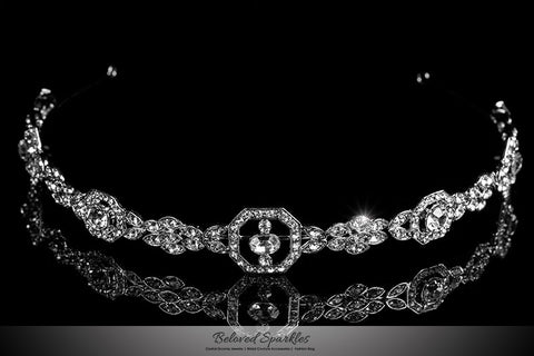 Ivana Halo Headband | Swarovski Crystal - Beloved Sparkles