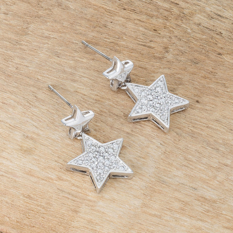 Bianca Star Drop Earrings | 1ct