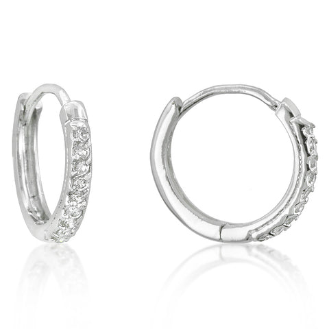 Bowdy Classic Petite Huggie Earrings