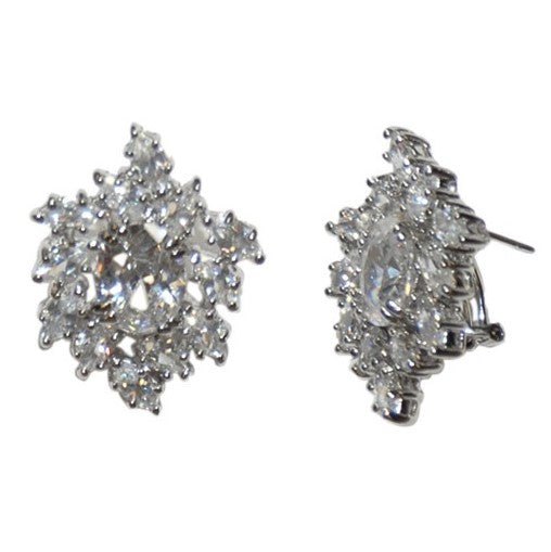 Cailin Vintage Cluster Statement Stud Earrings