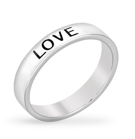 Larch Love Fashion Band Ring