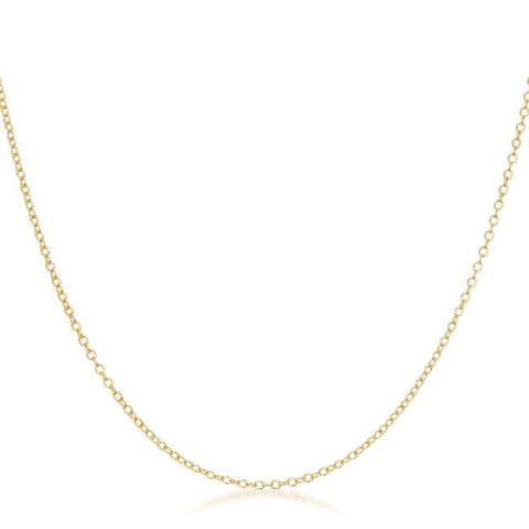 Livia Gold Link Necklace | 16in
