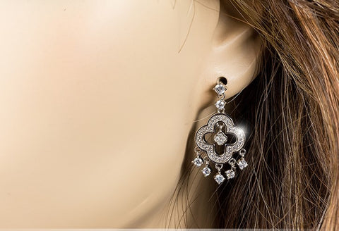 Mandy Clover Dangle Earrings