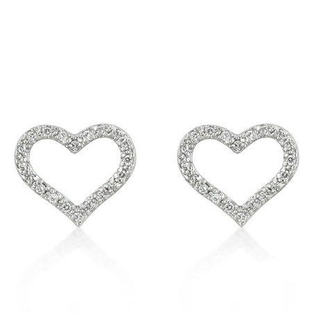 Nita Sweet Heart Stud Earrings