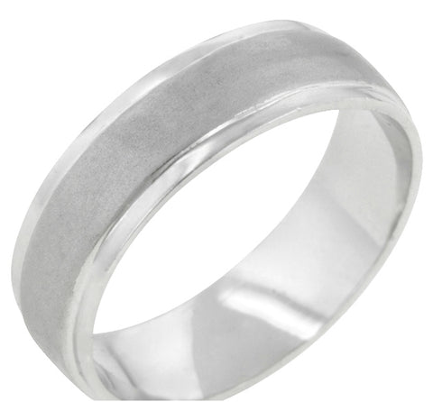 Ranita Classic Matte Wedding Band Ring