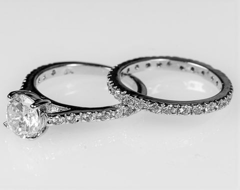 Shantell 1(ct) Round Engagement and Wedding Ring Set | 2.8ct