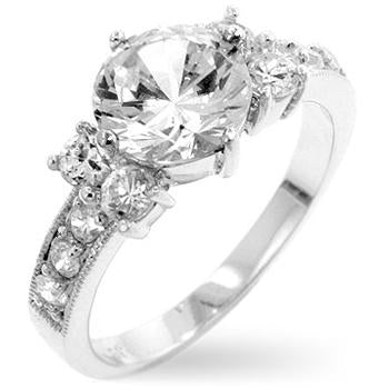 Tala Simplicity 1(ct) Round Cut Engagement Ring | 1.8ct
