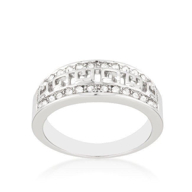 Talal Petite Art Deco Eternity Fashion Ring | 1 Carat | Cubic Zirconia - Beloved Sparkles  - 1