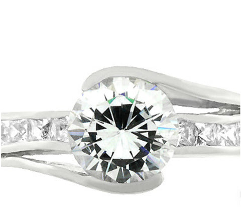 Addy Round Solitaire Classic Engagement Ring | 2.8ct | Cubic Zirconia