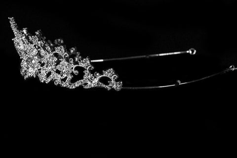 Lynette Vintage Filigree Tiara | Swarovski Crystal - Beloved Sparkles  - 3