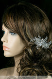 Helen Floral Spray Hair Clip | Swarovski Crystal - Beloved Sparkles