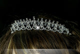 Joanna Art Deco Victorian Swarovski Crystal Tiara. - Beloved Sparkles  - 5