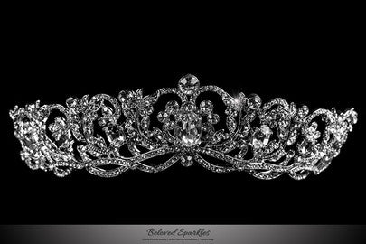 Couture Swarovski Crystal Tiara Bridal Hair Comb