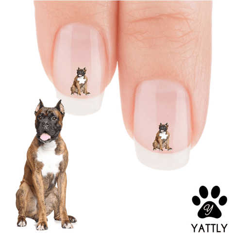 Boxer OO That treat looks good Nail Art Decals (NOW 50% MORE FREE)
