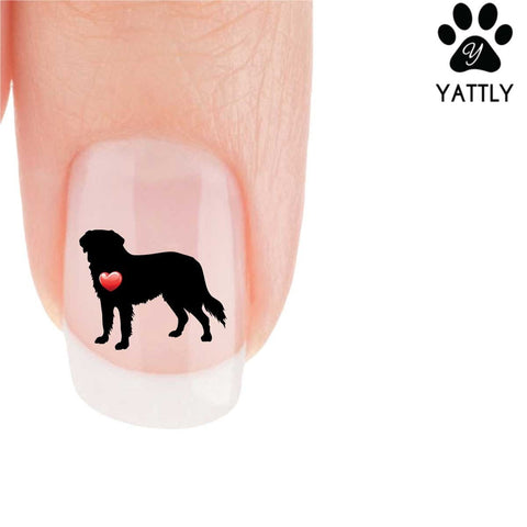 My Heart Bernese Mountain Dog Nail Art Decals (Now! 50% more FREE)
