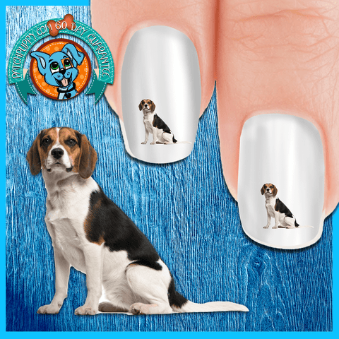 Beagle Yeah! I am Ready Nail Art Decals (NOW 50% MORE FREE)