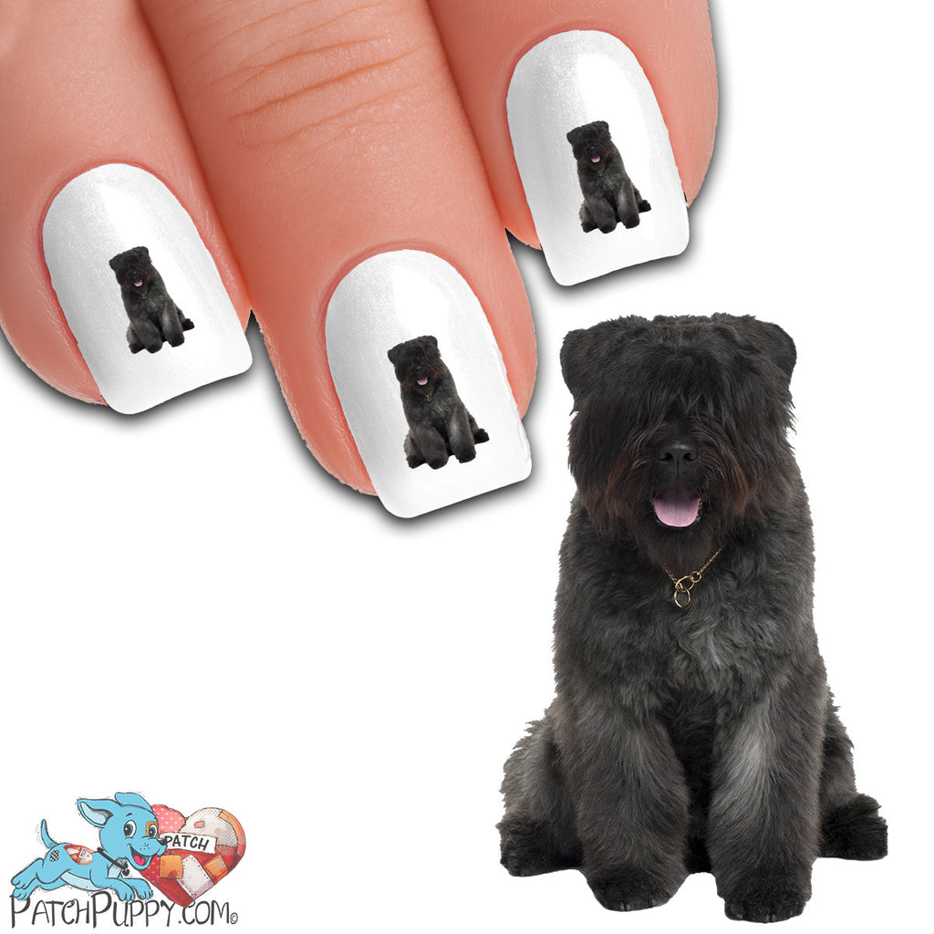 Bouvier Des Flandres Fuzzy Nail Art (NOW 50% MORE FREE) – Patch Puppy