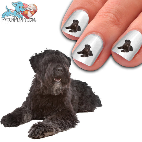 Bouvier Des Flandres Relaxing Nail Art (NOW 50% MORE FREE)