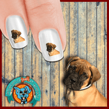 Boxer I Miss you Mommy! Nail Art Decals (NOW 50% MORE FREE)