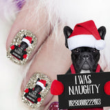Naughty Frenchie - Nail Art (NOW 50% MORE FREE)