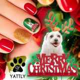 It's a Terrier Reindeer - Nail Art (NOW 50% MORE FREE)