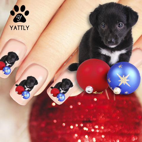 Ornamental Puppy - Nail Art (Now 50% More FREE)