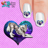Chinese Crested Too Sexy Nail Art Decals (Now! 50% more FREE)