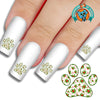 Christmas Holly Pawprint Nail Art Decals (Now! 50% more FREE)