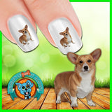 Corgi Let it Snow Nail Art Decals ( NOW 50% MORE FREE)