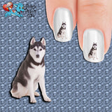 Husky - Courageous and Regal Nail Art Decals (Now! 50% more FREE)