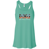 Dog God Country Flowy Tank