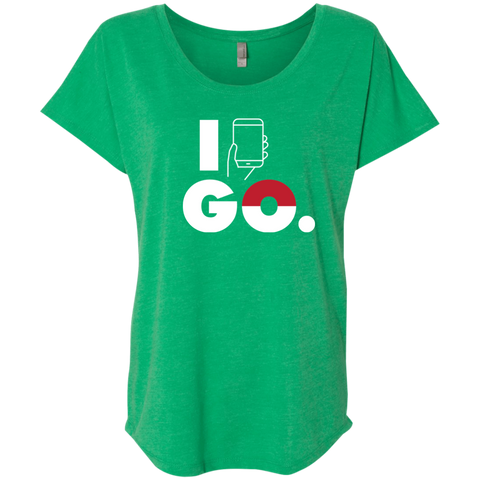 I Go Ladies Relaxed Fit Tee