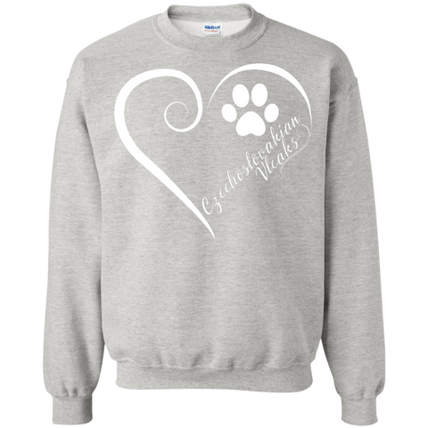 Czechoslovakian Vlcak, Always in my Heart Sweatshirt