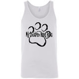 My Children Have Paws Scoop Neck Unisex Tank