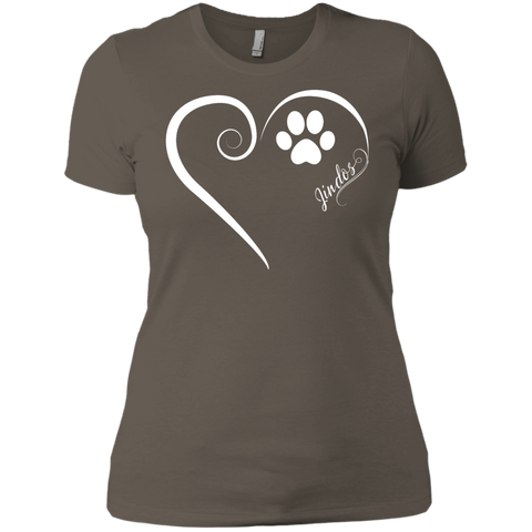 Jindo, Always in my Heart  Ladies' Boyfriend Tee