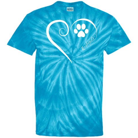 Keeshond, Always in my Heart Tie Dye Tee
