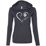 Doberman Pinscher, Always in my Heart Ladies T-Shirt Hoodie