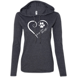 Neapolitan Mastiff, Always in my Heart Ladies T-Shirt Hoodie