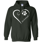 Dachshund, Always in my Heart Hoodie