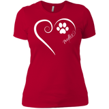 Poodle, Always in my Heart Ladies' Boyfriend Tee