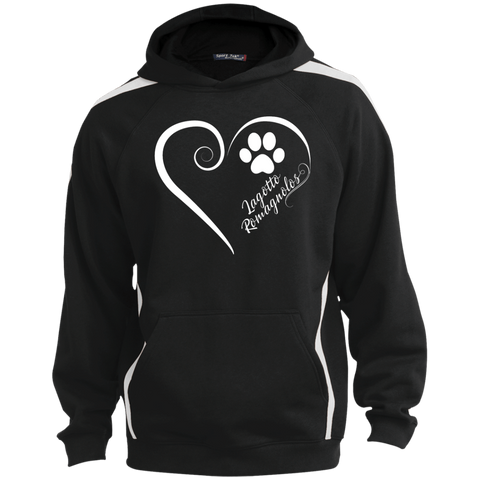 Lagotto Romagnolo, Always in my Heart  Colorblock Sweatshirt