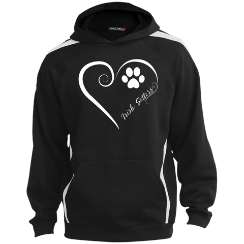 Irish Setter, Always in my Heart  Colorblock Sweatshirt