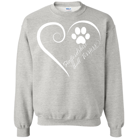 Staffordshire Bull Terrier, Always in my Heart Sweatshirt
