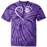 Curly-Coated Retriever, Always in my Heart Tie Dye T-Shirt