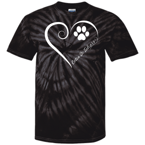 Coton De Tulear, Always in my Heart Tie Dye T-Shirt