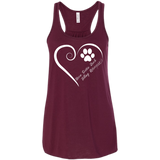 Nova Scotia Duck Tolling Retriever, Always in my Heart Flowy Racerback Tank