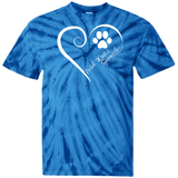 Irish Water Spaniel, Always in my Heart Tie Dye Tee