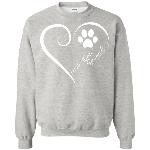 Irish Water Spaniel, Always in my Heart  Sweatshirt