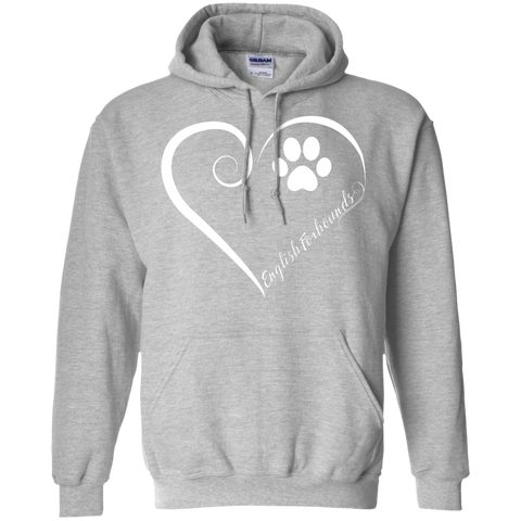 English Foxhound, Always in my Heart Hoodie